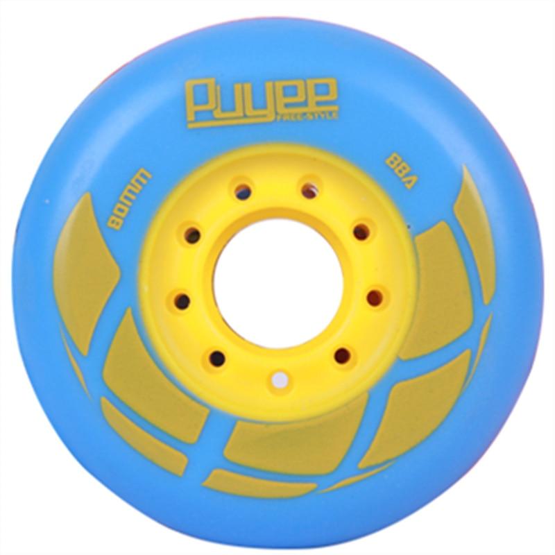 Free Shipping Roller Skate Wheels 88 A 8 Pcs /lot