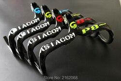 Nowy 4 kolory ASIACOM rower szosowy całości z włókna węglowego kierownica i stem integratived 400/420/440 * 90/100/110/120mm bezpłatny statku