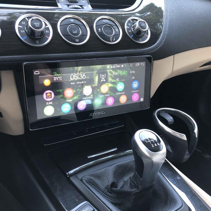 JOYING dernière 2 gb RAM 32 gb Android 8.0 autoradio radio soutien carplay et android GPS auto stéréo avec 8.8 ''écran horizontal