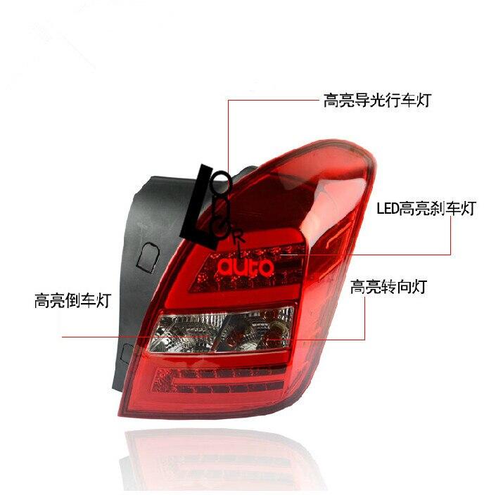 Светодиодный задний фонарь для Шевроле Trax 2013-2015 задний свет