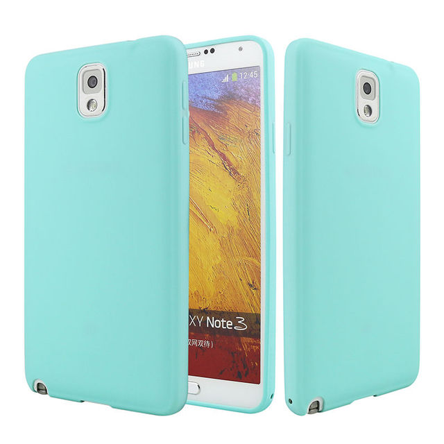 buy popular e767c 3de03 US $1.59 20% OFF|Phone Case For Samsung Galaxy Note 3 N9000 Cover Silicone  Luxury Ultra Thin Soft Cute Colors TPU Back Case For Samsung Note 3-in ...