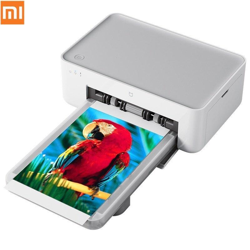 Original Xiaomi Photo Printer Wireless Remote Portable Printer Heat Sublimation Finely Restore True Color Auto Multiple