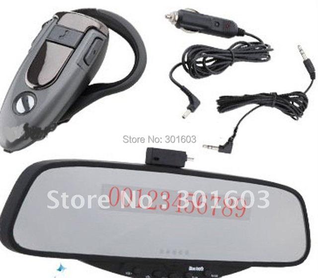 30% Discount, Car Bluetooth Car Rear View Mirror