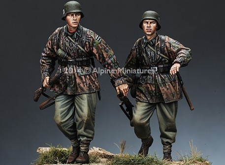 1:35 World War II German Soldiers