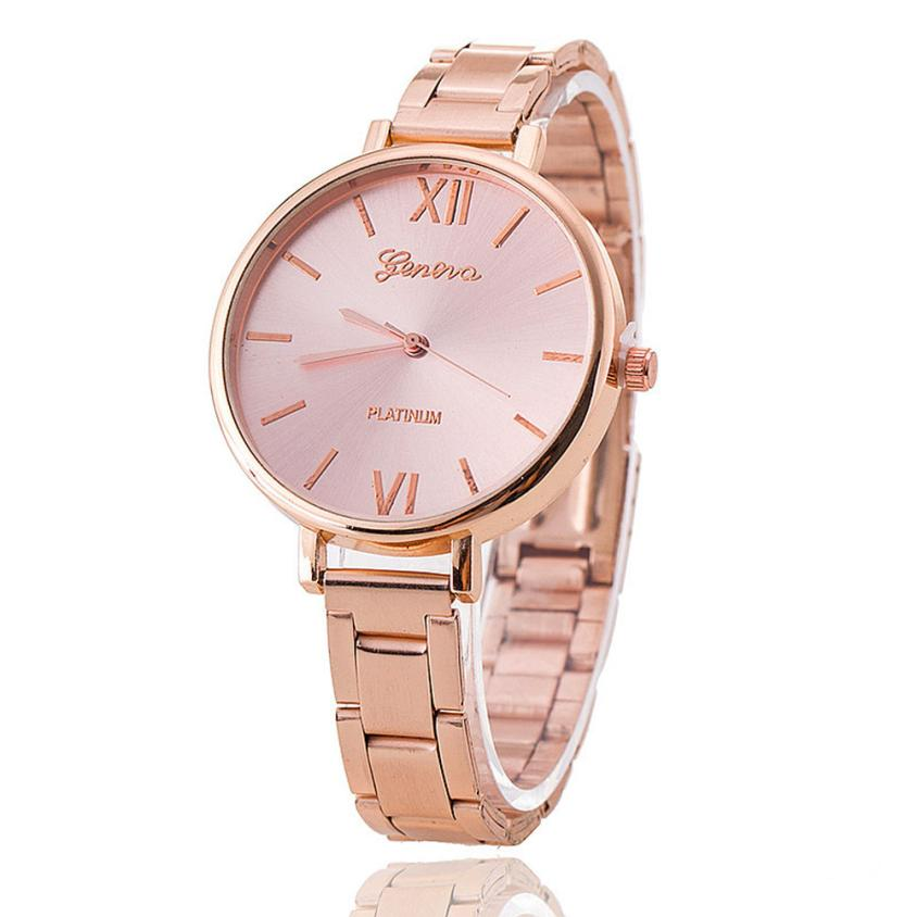 Women Watches Montre Femme  Military Stainless Steel   Watch  Rose Gold Fashion Date Sport   Watch Women 18MAY22