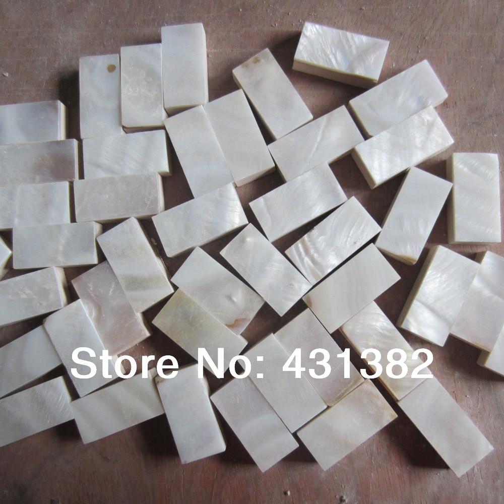 HYRX mosaic tile 10*20mm;mother of pearl tile backsplash;mother of pearl mosaic tiles; shell white color granule;decorative tile|decoration tile|tile decoration|mother of pearl tiles - title=