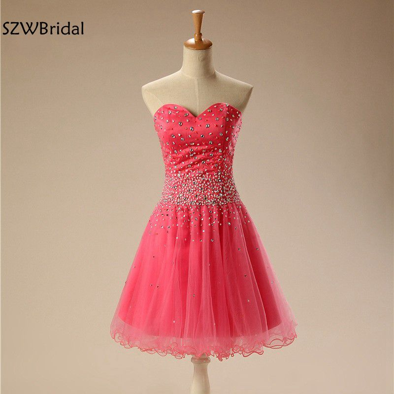Vestido de festa curto New Arrival Sweetheart Watermelon Short   Cocktail     dresses   2019   cocktail   party   dress   vestidos coctel