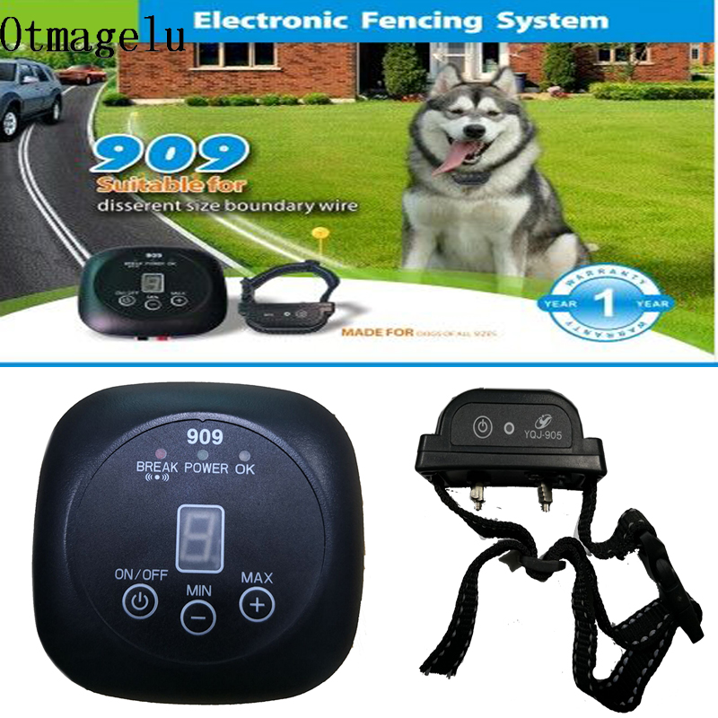909 Safety Pet Dog Electric Fence With Waterproof Dog