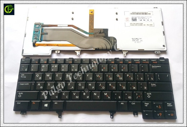 Русский RU Клавиатура для DELL E6420 E5420 E5430 E6220 E6320 e6230 E6330 E6420 E6430 E5420M E6430S xt3 E6440 E6430ATG с с подсветкой