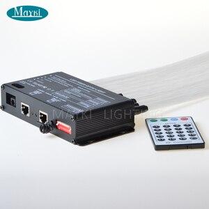 Image 2 - Maykit câble en Fiber optique, contrôle 512, DMX LED, câble décoratif, météore projecteur LED, abordable, vente en gros