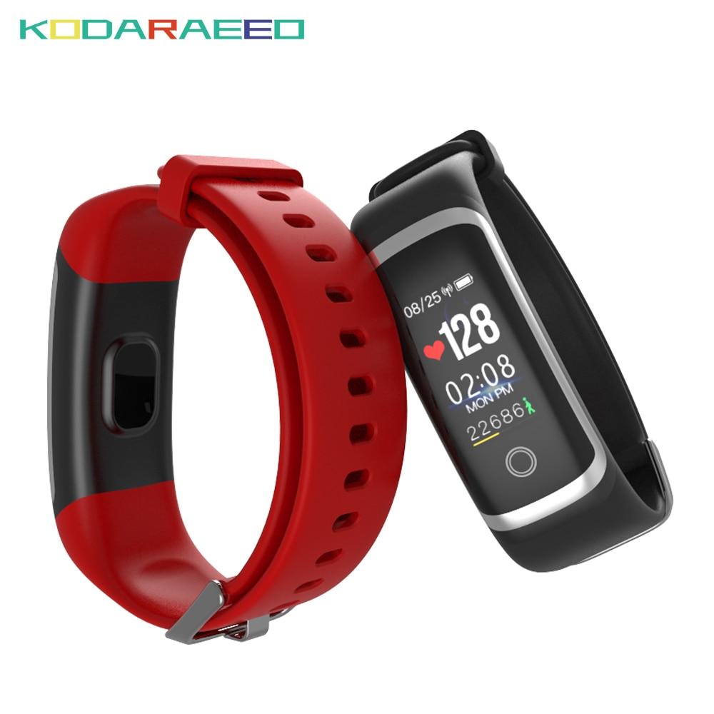 Smart Band Heart Rate tracker Blood Pressure Monitor Sport Smart Bracelet Sleep Tracker Call Reminder Waterproof Watch