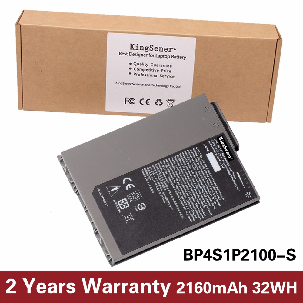 цены KingSener New BP4S1P2100-S Laptop Battery for Getac RX10 Rugged Tablet PC BP4S1P2100-S 15.2V 2160mAh 32WH Free 2 Years Warranty