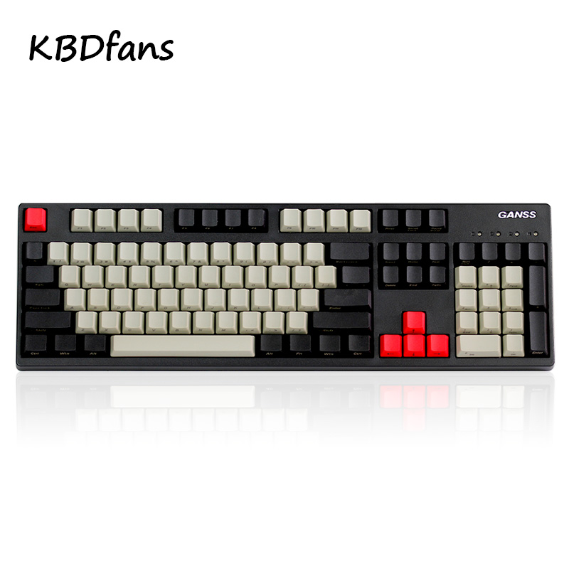 Ducky filco PBT 108 color   Keycaps Key Cap For Cherry/ ANSI Mechanical Keyboard Color  keycap