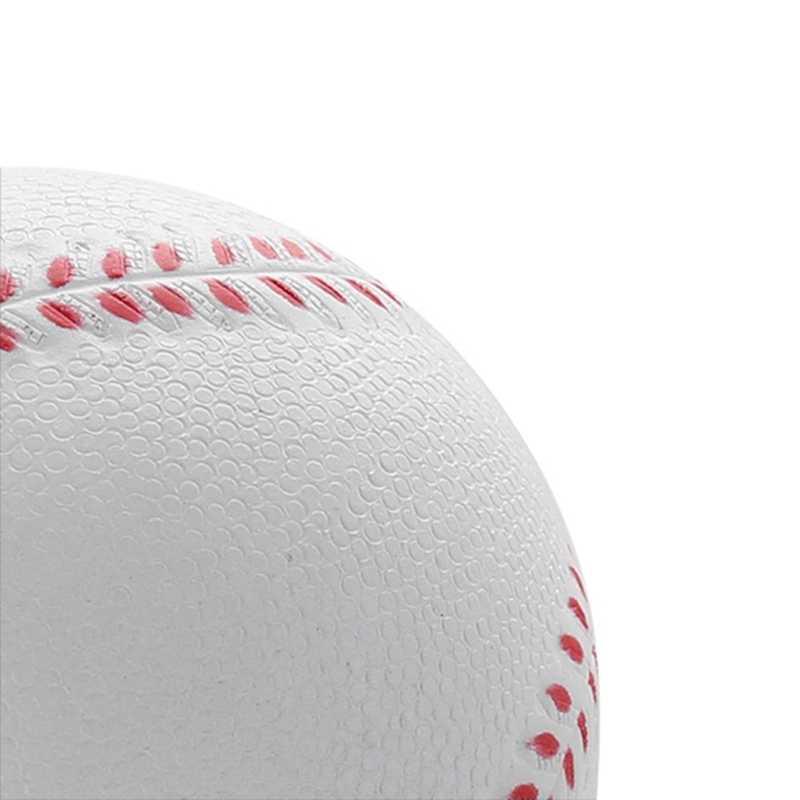 1 قطعة العالمي اليدوية البيسبول PVC و بو العلوي الصلب و لينة البيسبول كرات البيسبول الكرة التدريب ممارسة البيسبول كرات