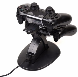 Image 2 - PS4 Accessories Joystick PS4 Charger Play Station 4 Dual Micro USB Charging Station Stand for SONY Playstation 4 PS4 Controller