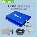 Repetidor gsm 2100 repetidor de sinal celular 2g 3g GSM de doble banda 900 mhz 2100 mhz EDGE HSPA WCDMA UMTS Amplificador de Señal