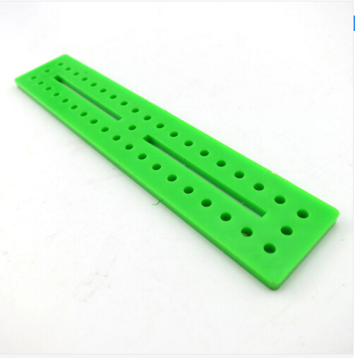 5Pcs 20 * 100mm Green Board DIY Assembled Frame Science and Technology Model Materials DIY Model Accessories 17210TW