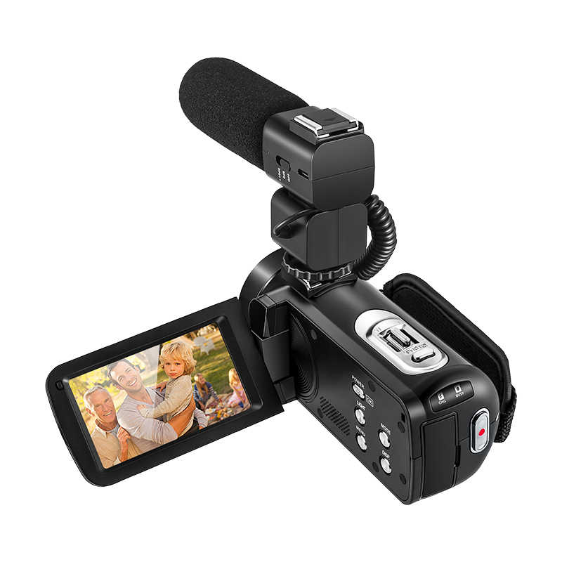HDV-Z82 Full HD Digital Camera 3.0 inch TFT LCD Touch Screen Professional Camcorder Remote Control 10X Picture Video Camera