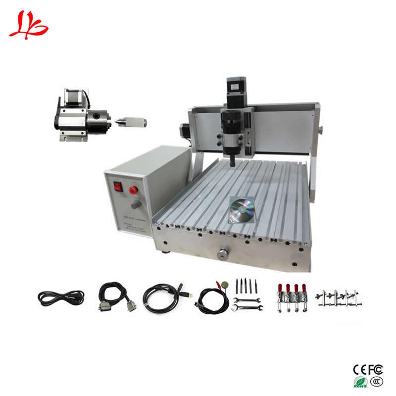 CNC routeur mini CNC machine 3040 port USB fraisage machine de gravure Mach3 ER11 kit avec fin de course