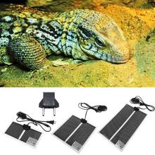 Pet Reptile Heat Mat Turtle Lizard Substrate Constant Warmer Waterproof Bed 6W/9W/13W(China)