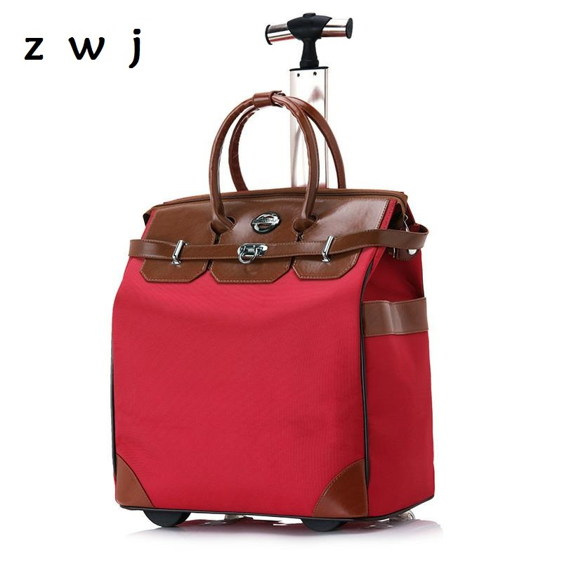 New Rolling Luggage Bag Rolling Suitcase Trolley Luggage Women Travel Bags Suitcase With WheelNew Rolling Luggage Bag Rolling Suitcase Trolley Luggage Women Travel Bags Suitcase With Wheel