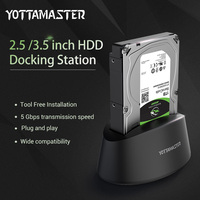 Yottamaster USB3 0 To SATA External HDD Docking Station For 2 5 3 5 Inch HDD