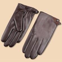 Svadilfari мужские зимние перчатки с сенсорным экраном, ветрозащитные, сохраняющие тепло, для вождения, Guantes, мужские осенние зимние варежки из натуральной кожи