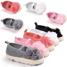 spring summer baby girls flower princess lovely  shoes for 0~18month bx303