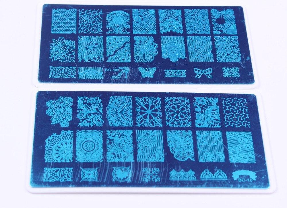 plástico titular moda combinação arte do prego imagem templatejt116