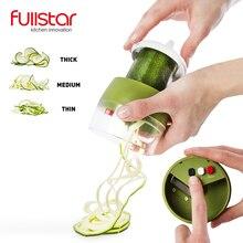 Fullstar Овощной спиральный слайсер резак овощей Spiralizer Терка Морковь Огурец Courgette кабачки спагетти