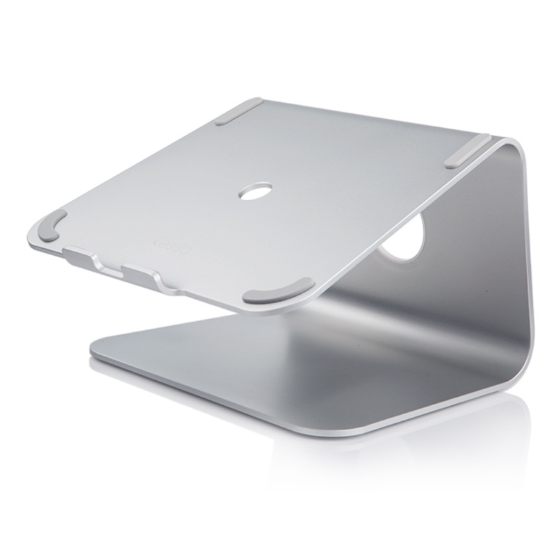 Aluminum Alloy Laptop Cooling Stand Or Laptop Holder With Ergonomic Design For MacBook Air And Pro