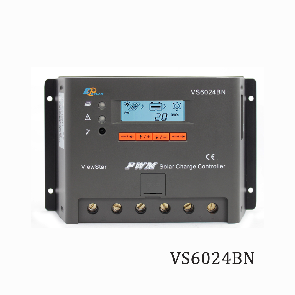 Viewstar VS6024BN 60A 12V 24V EP PWM Programmable Solar Charge controller charger Regulators support MT50 WIFI Bluetooth elog01Viewstar VS6024BN 60A 12V 24V EP PWM Programmable Solar Charge controller charger Regulators support MT50 WIFI Bluetooth elog01