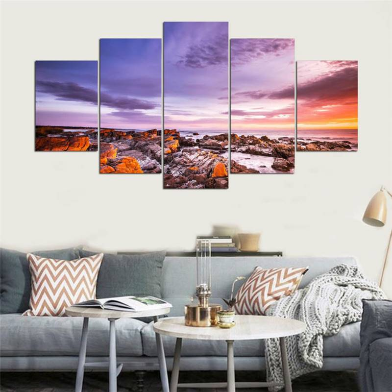 Wall Framework Pictures For Living Room Home Decor 5 Panel