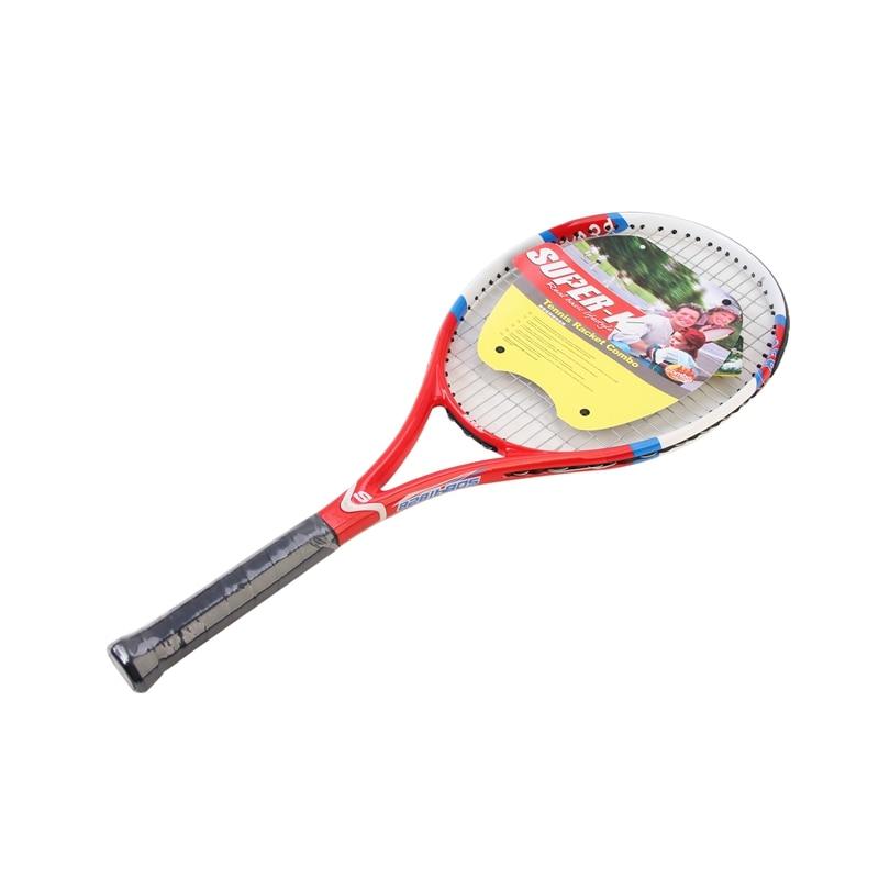 full Professional Carbon fiber Tennis Racket For Men and Women training Tennis 1 Piece racket цена