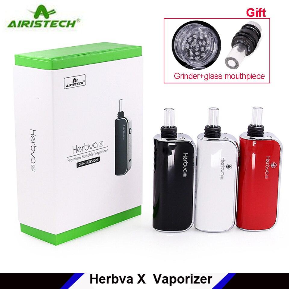 In Stock Original Airistech Herbva X Vaporizer Kit Dry Herb e cig vape kit 3in1 1000mah