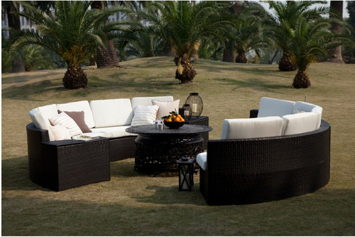 Enjoyable Us 899 0 Newest A Round Pod Outdoor Furniture 11 Piece Deep Seating Set In Garden Sofas From Furniture On Aliexpress Com Alibaba Group Home Interior And Landscaping Ologienasavecom