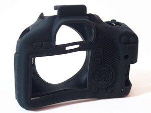 Image 2 - LimitX سيليكون درع حالة الجلد الجسم غطاء حامي الكاميرا لكانون EOS 550D/المتمردين T2i/قبلة X4 DSLR كاميرا رقمية فقط