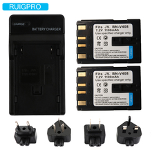 BN-V408 BN-V408U Camcorder Battery Charger Pack for JVC GR-D230US GR D30 D30E D30U D30US D31EK D31US D32