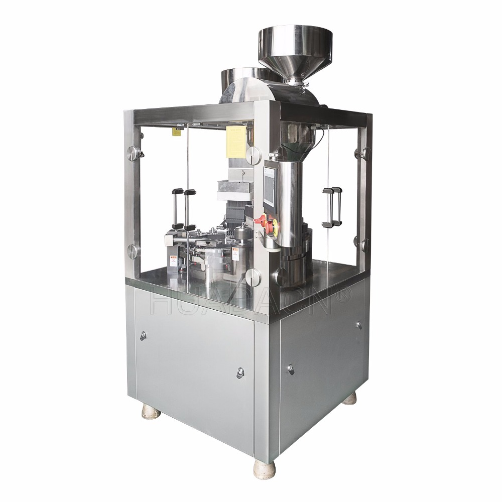 NJP-1200D High Filling Accuracy Automatic Capsule Filling Machine, Capsule Filling Device