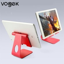 Vogek Phone Metal Holder 270 Degree Adjustable Angle Desk Phone Stand