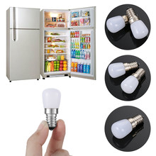 1 PC portátil brillante Mini E14 nevera-congelador tornillo LED Bombilla hogar refrigerador de iluminación Interior(China)