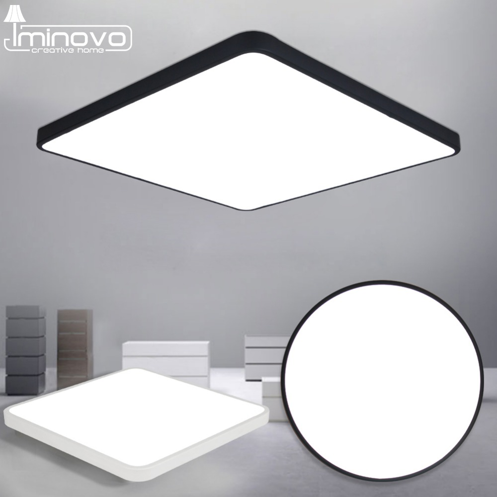 LED Ceiling Light Modern Lamp Living Room Lighting Fixture Bedroom Kitchen Surface Mount Flush Panel Remote Control modern remote control led lamp ceiling light fixture living room bedroom christmas decoration for home lighting white metal 220v