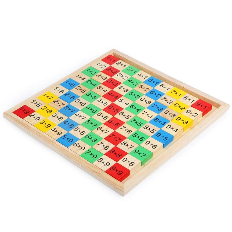 Montessori Educational Wooden Toys Multiplication Table ...