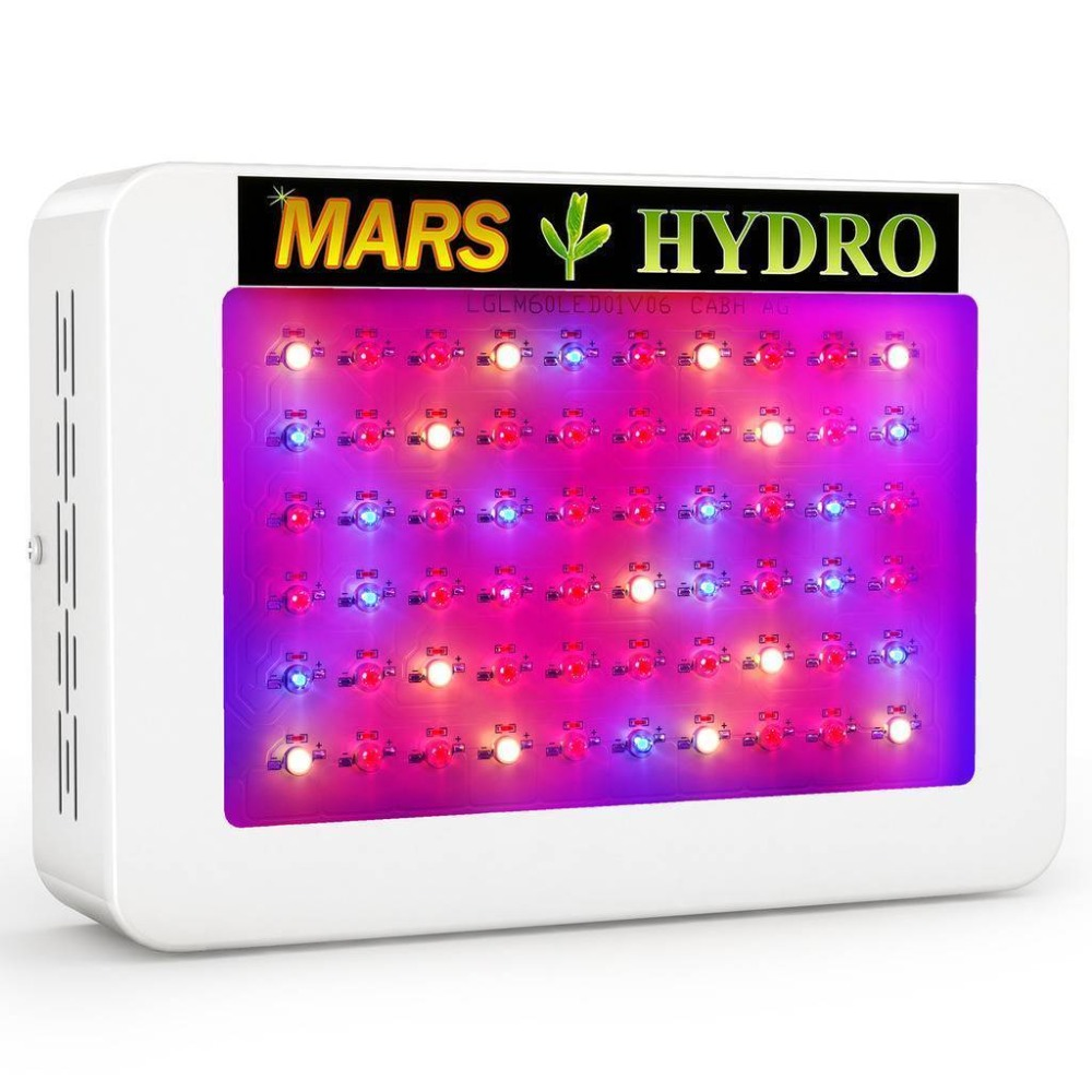 Mars Hydro Mars 300 /Mars 600 LED Grow Light Best for Beginner Full Spectrum for Hydroponic Planting Duty free mars pattern warhound titans full set f006