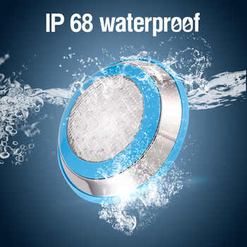 LED Swimming Pool Light IP68 Waterproof AC/DC 12V 12W 15W 18W Outdoor RGB UnderWater Light Pond Led Piscina Luz Spotlight - DISCOUNT ITEM  13 OFF Lights & Lighting