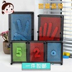 دمية بلاستيكية مضحك لعبة Pinart 3D استنساخ شكل دبوس الفن Shoumo متنوعة الملونة إبرة الطفل الحصول على الوجه النخيل نموذج 1 قطعة شحن مجاني
