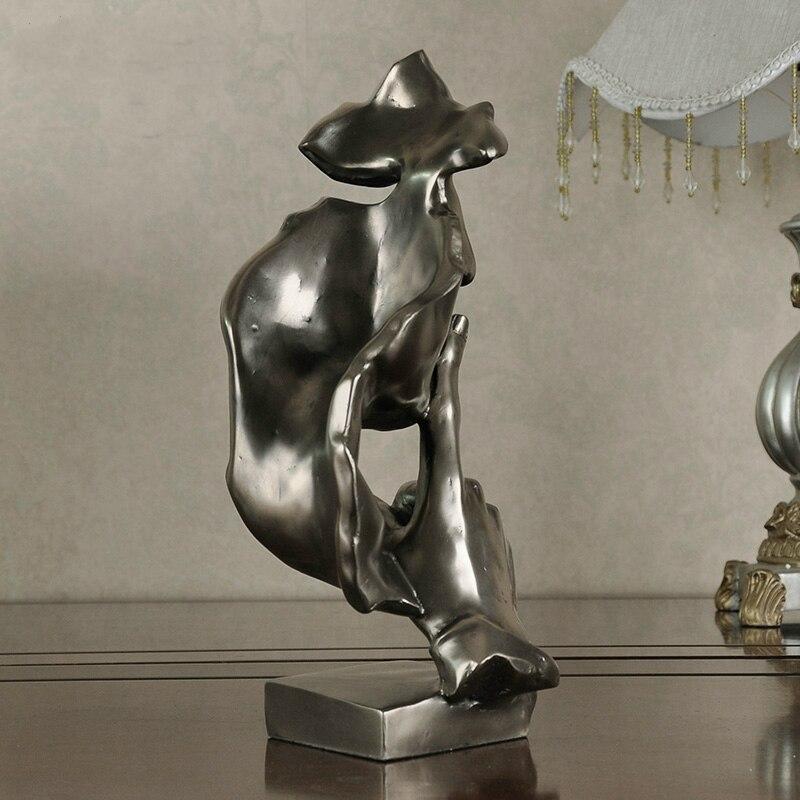 Connu Livraison Gratuite Décoratif Artisanat Résine Figure Statue  EJ73