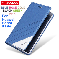 Tscase Fashion High Quality Original For Huawei Honor 8 Lite Case Luxury Leather Flip For Huawei