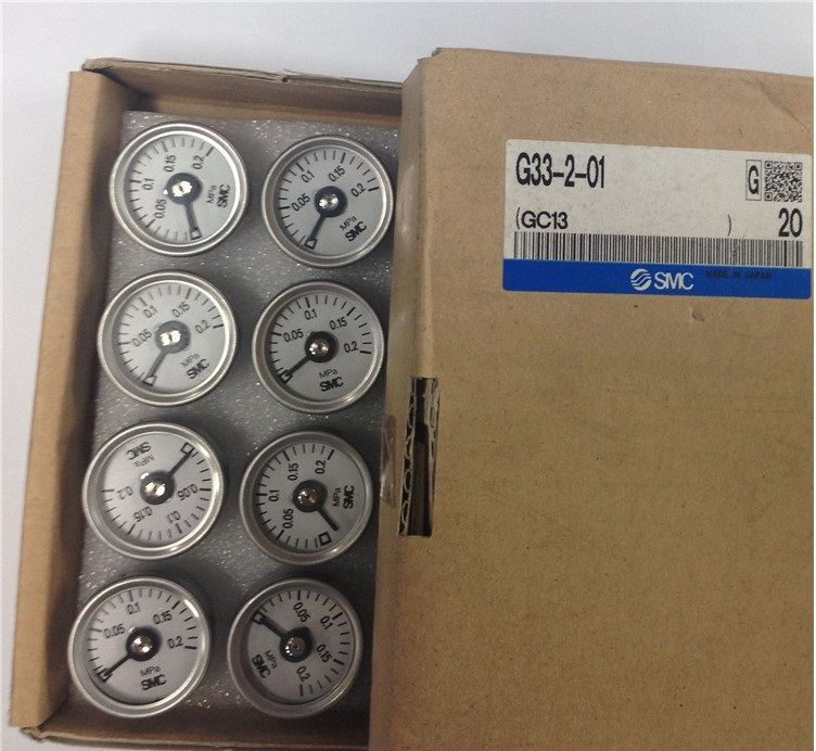 BRAND NEW JAPAN SMC GENUINE GAUGE G33-2-01 brand new japan smc genuine gauge g43 4 01