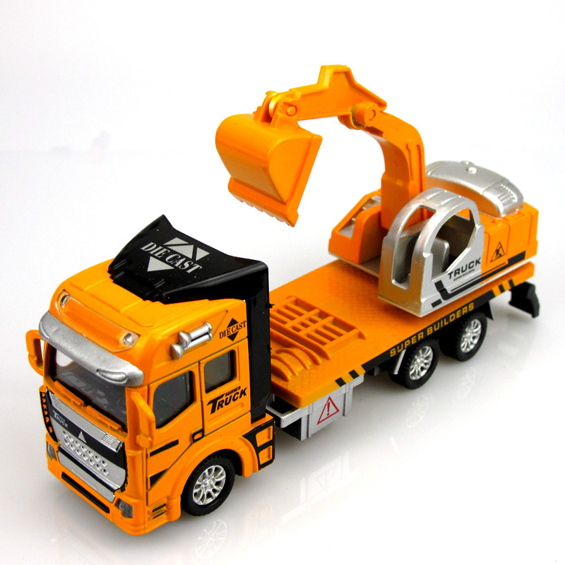 aliexpresscom buy pull back alloy engineering car toys juguetes vehicles building kids toy mixer truck excavator bulldozer car model from reliable car